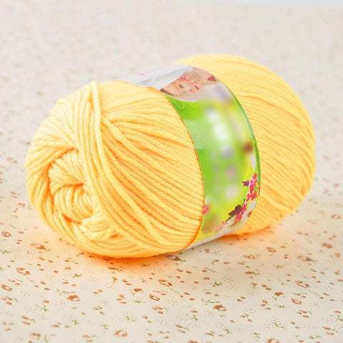 Super Soft Double Knitting Eco-friendly Dyed Natural Wool