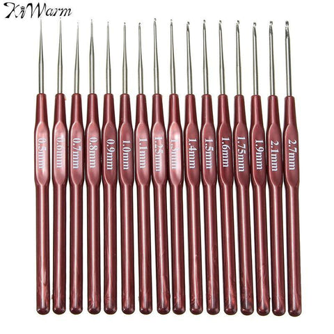 Multi Stainless Steel Knitting Needle 16Pcs/set