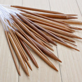 Circular Bamboo Needles 18pairs /18Sizes