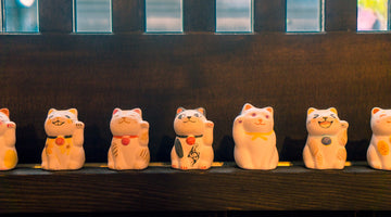 Design Your Own Maneki Neko in Sendagi!