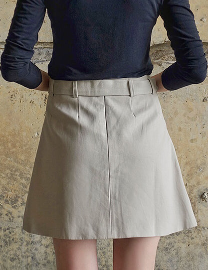Muse Button Up Skirt - Muse Studios
