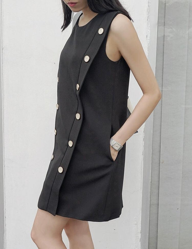 Muse Button Up Dress - Muse Studios