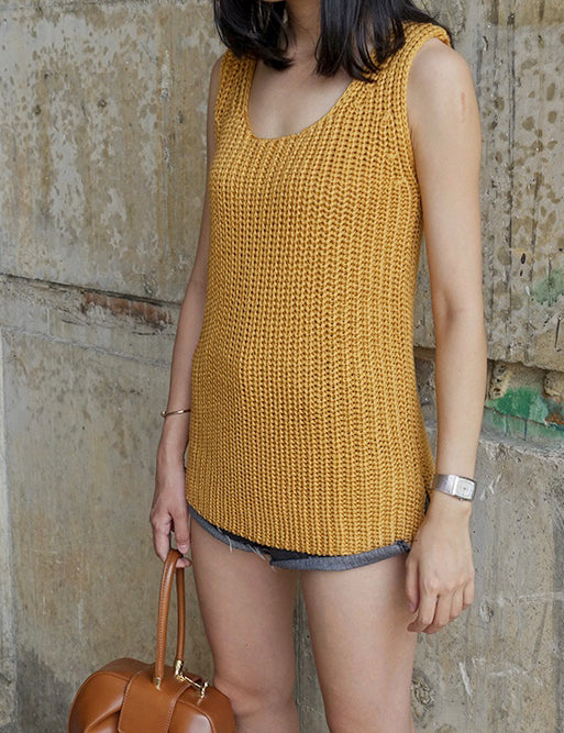 Muse Knitted Sleeveless Top