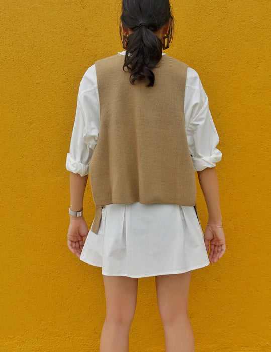Muse Knitted Vest - Muse Studios