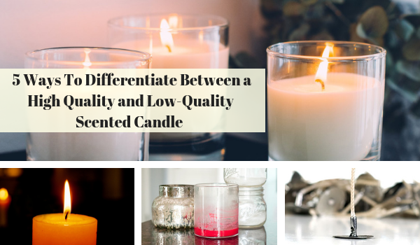 Lighthaus : 5 Ways To Differentiate Between a High Quality and Low Quality Scented Candle?-Lighthaus Candle