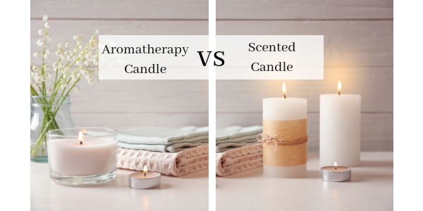 Lighthaus : 5 Things to Help You While Differentiating Between an Aromatherapy and a Scented Candle-Lighthaus Candle