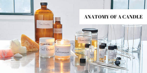 Lighthaus : Anatomy of a Candle-Lighthaus Candle