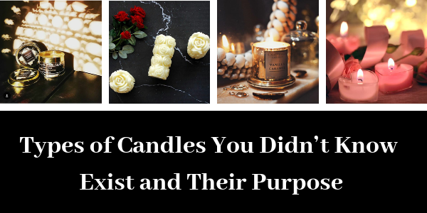 LIGHTHAUS : Types of Candles You Didn't Know Exist and Their Purpose-Lighthaus Candle