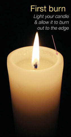 white pillar candles bulk