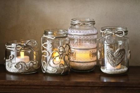 diy jar candles
