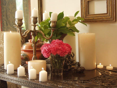 candles for home decor, decorative candles, pillar candles, candles online