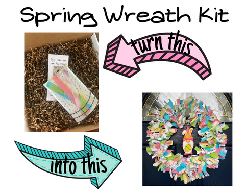 do it yourself spring wreath