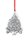 USA Handcrafted Christmas Theme Keepsake Ornament Pewter Gift Set