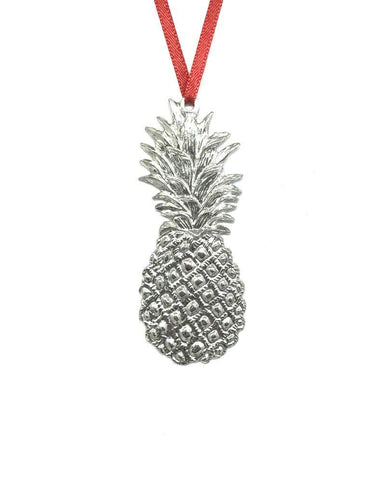 552 Pineapple Southern Hospitality Holiday Christmas Keepsake Pewter - House of Morgan Pewter