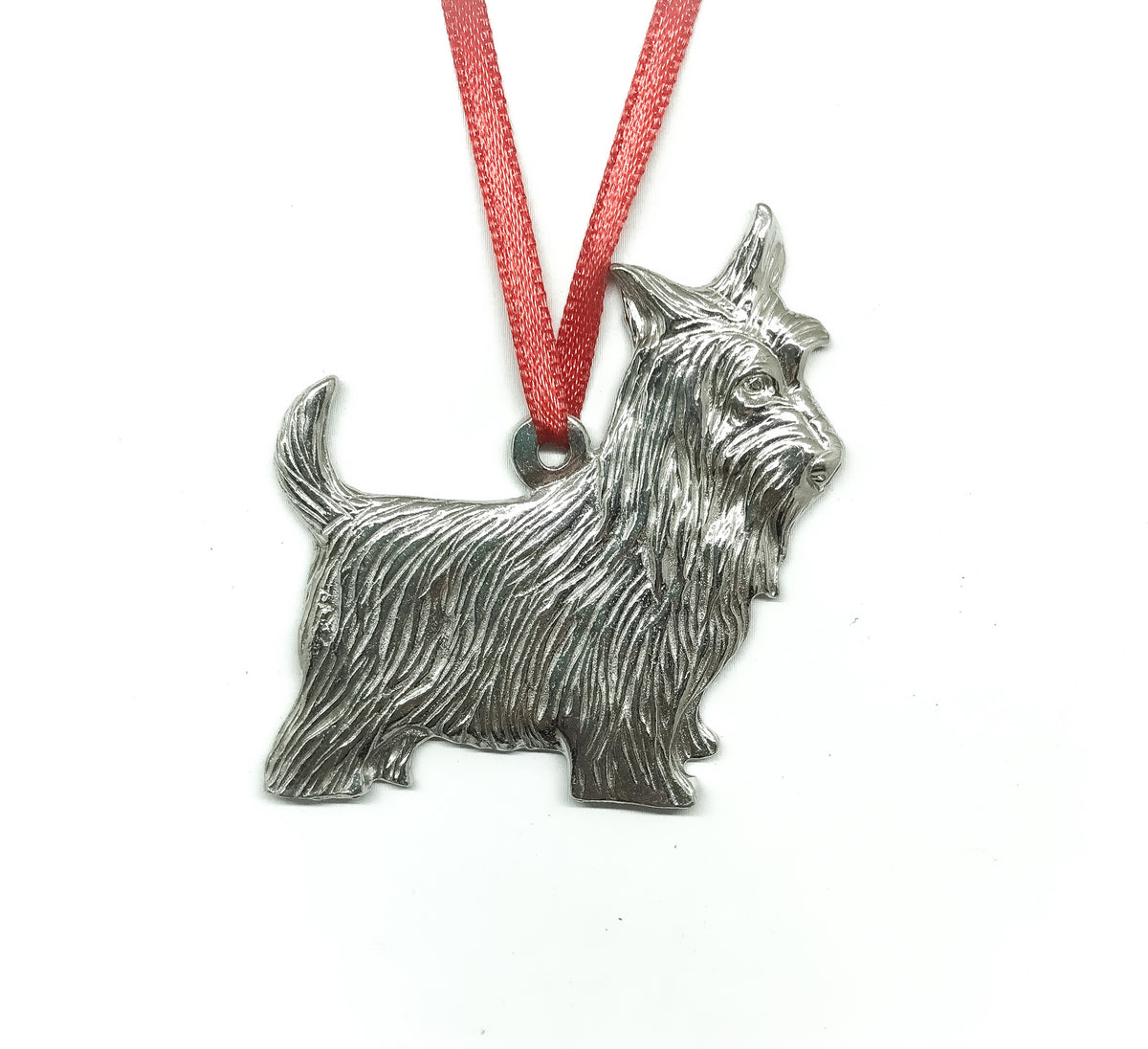 Cute Scottie Dog Silver Design