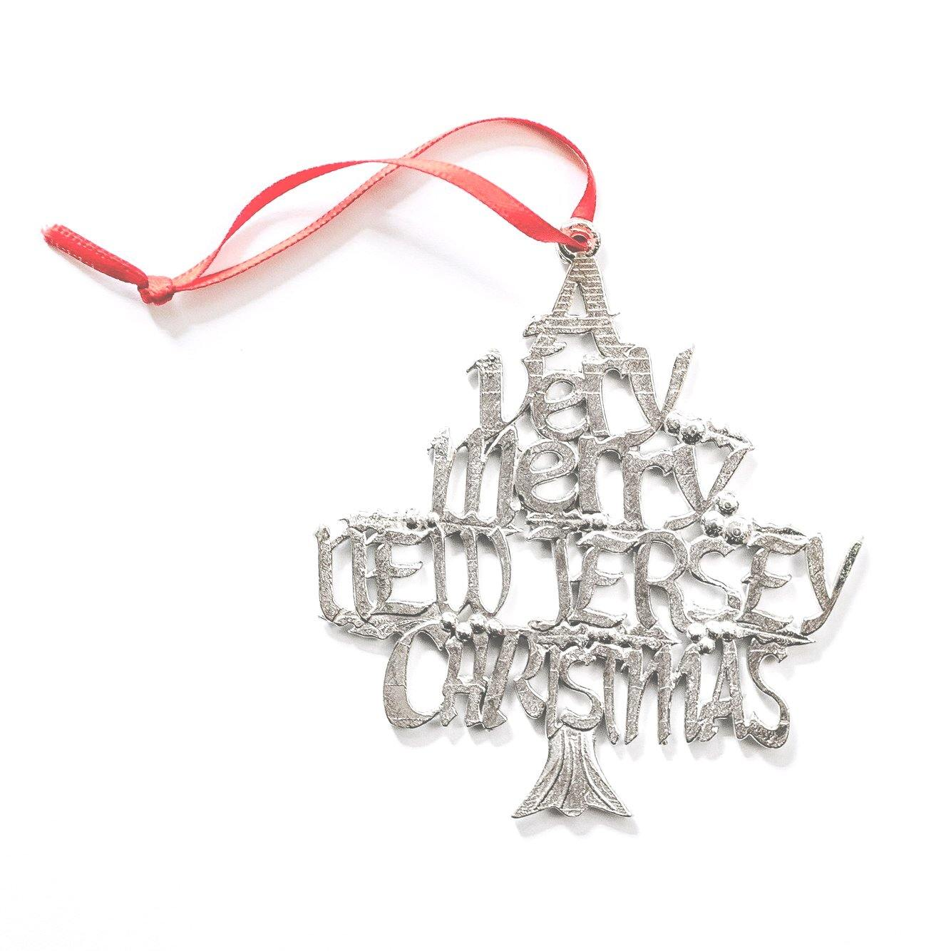 new jersey handmade christmas ornament
