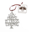 USA Handcrafted Illinois IL Chicago Christmas Ornament Holiday Travel Gift