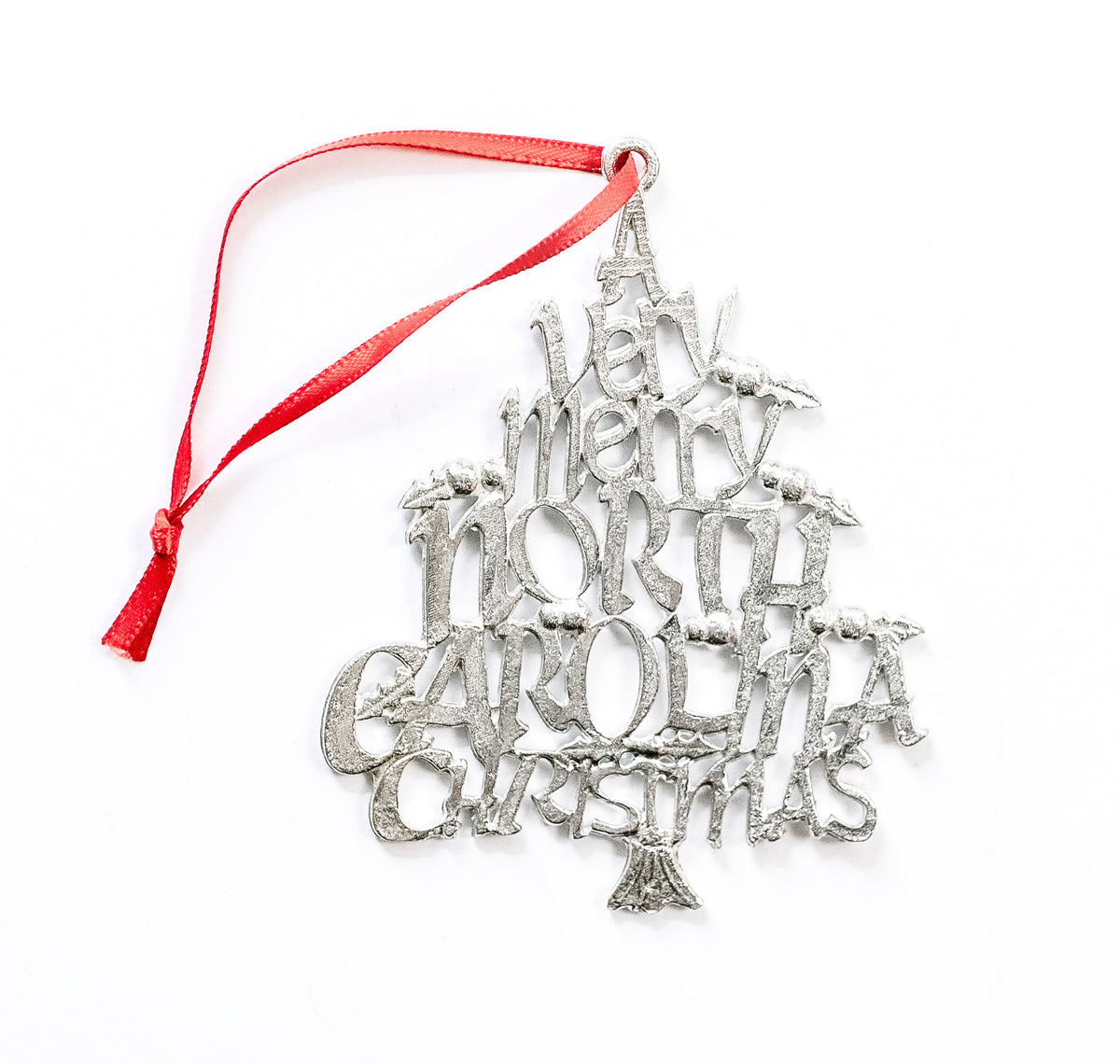 handmade north carolina metal christmas gift