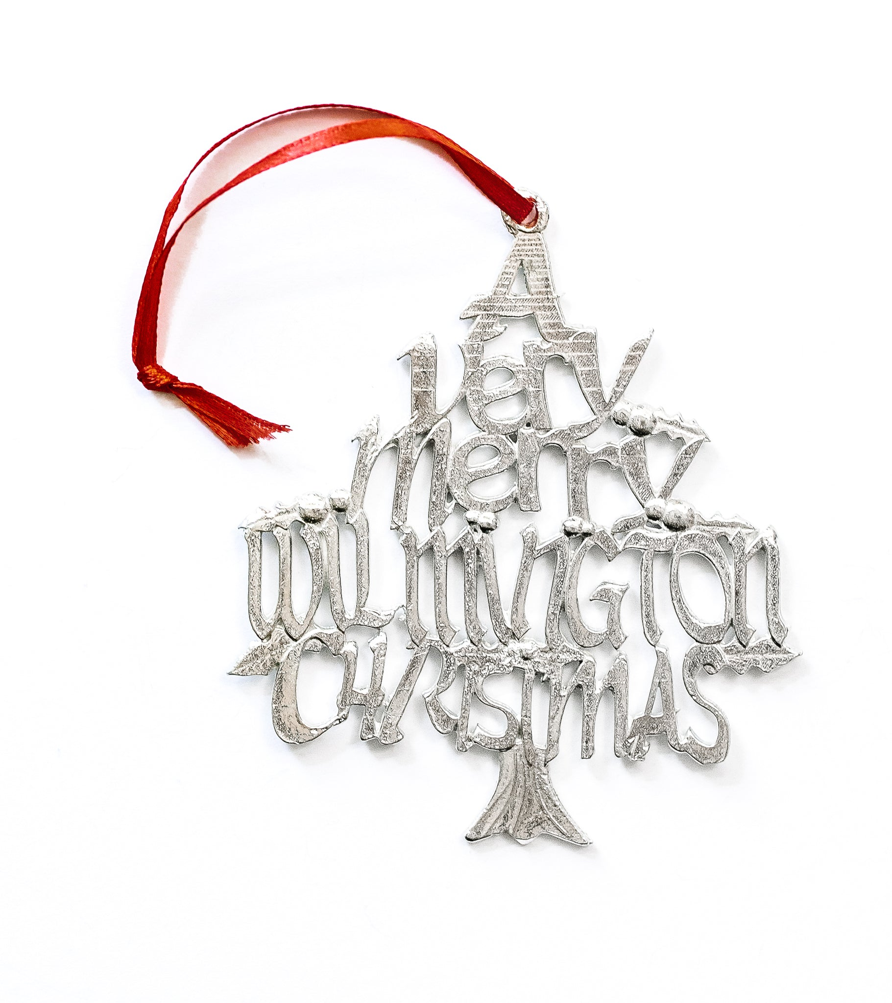 handmade wilmington christmas ornament