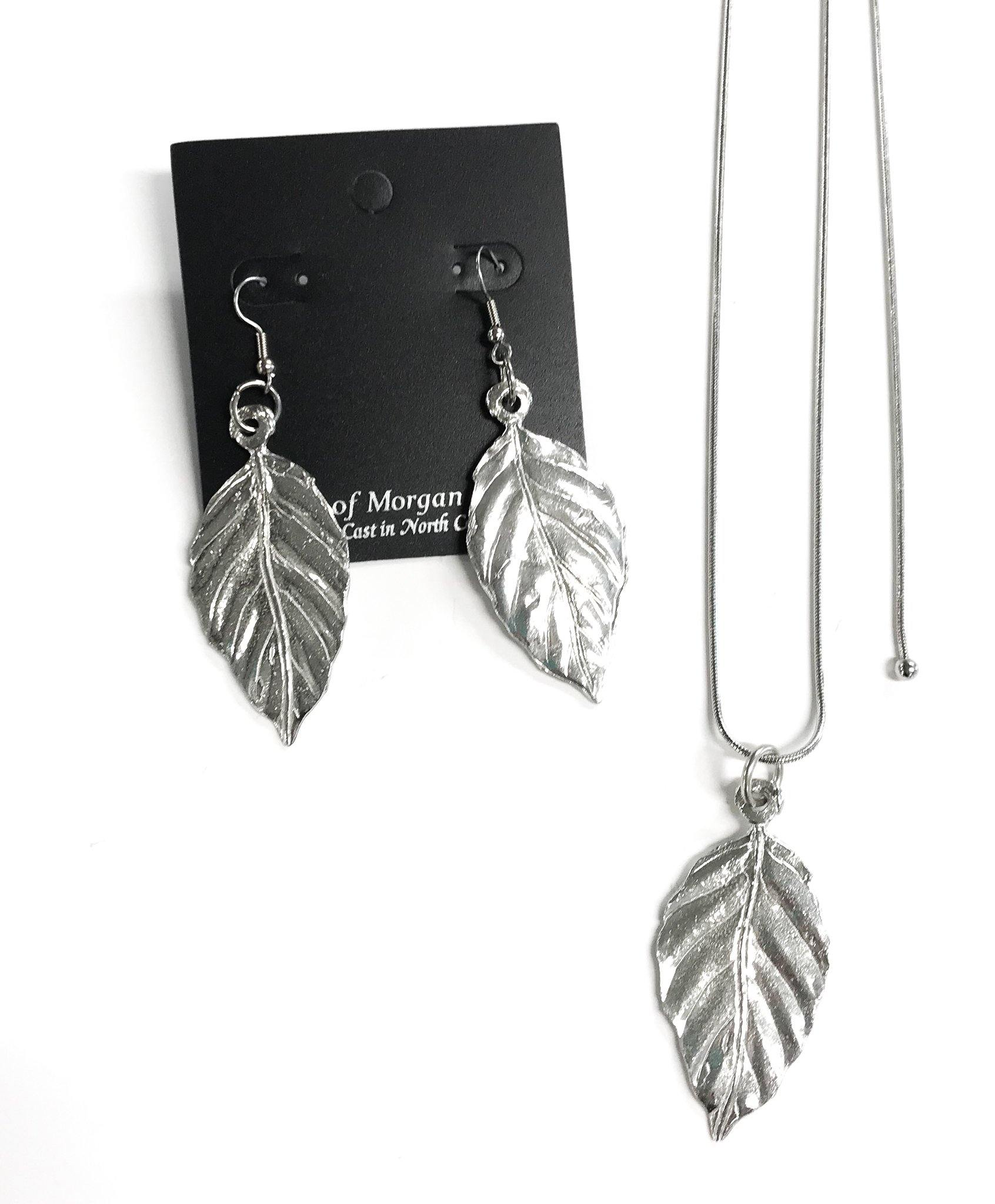 North Carolina handmade tobacco leaf jewelry
