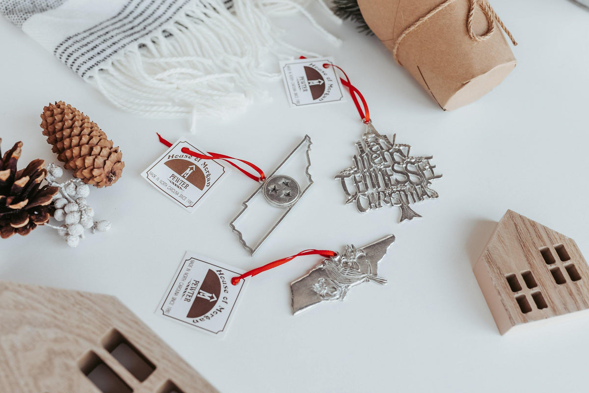 handmade Tennessee christmas ornaments