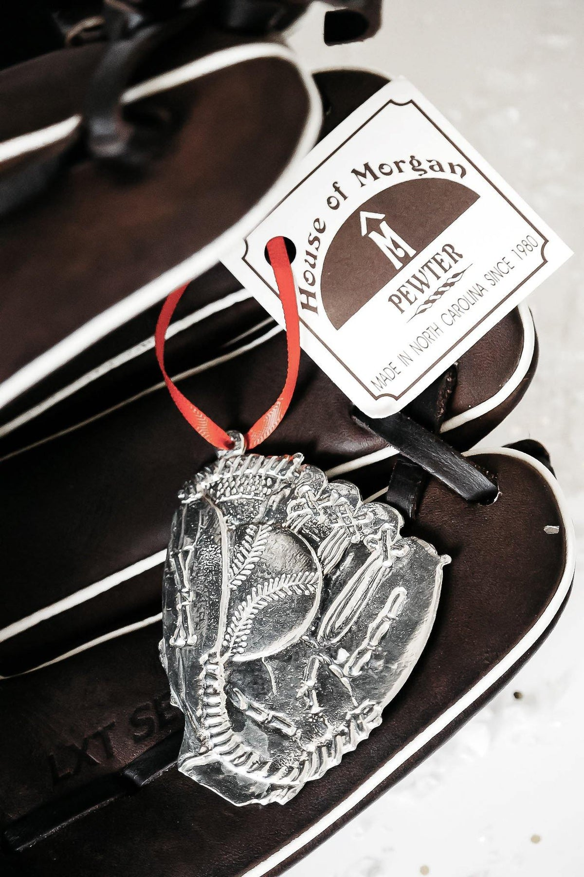 Handmade Baseball Player Coach Team Keepsake Christmas Ornament - House of Morgan Pewter