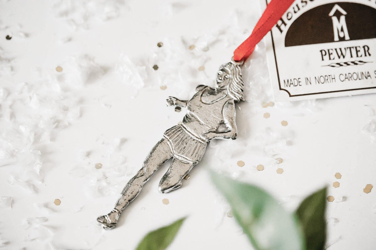 Handmade Sports Christmas Ornament, Athlete Gift