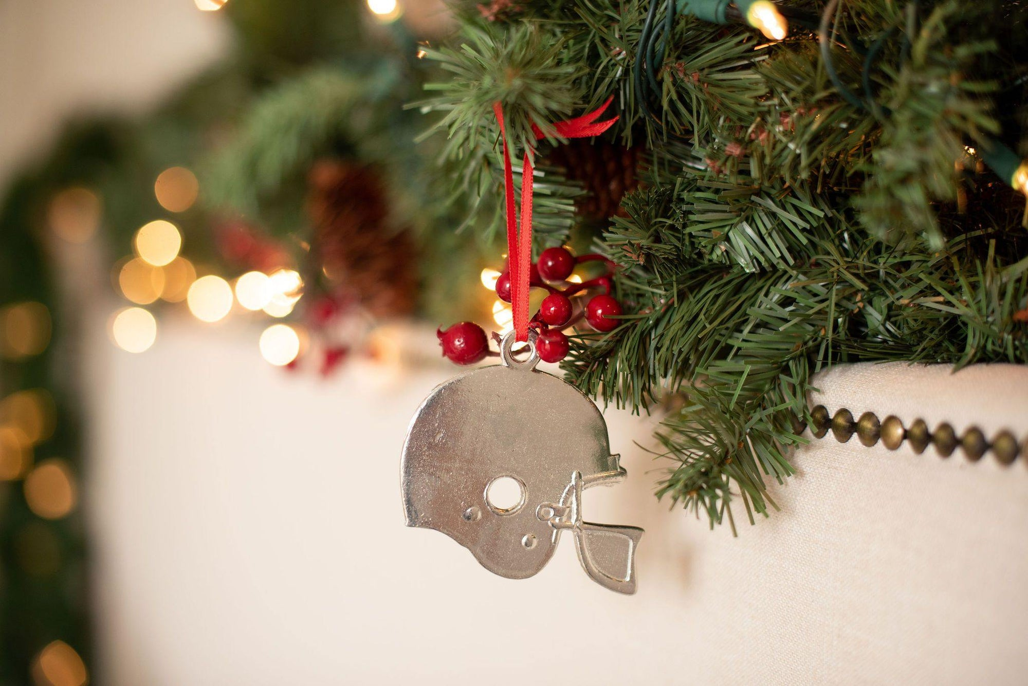 top athlete christmas ornament