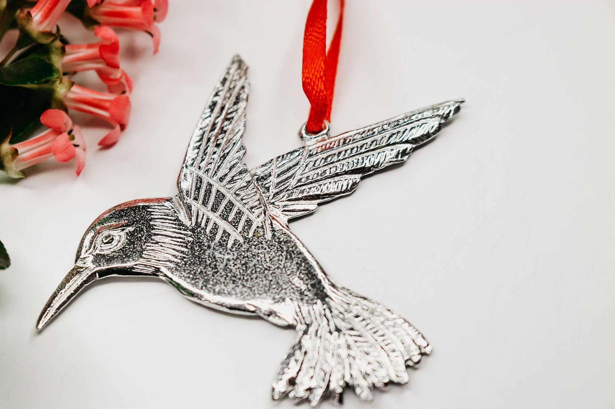handmade hummingbird christmas ornament