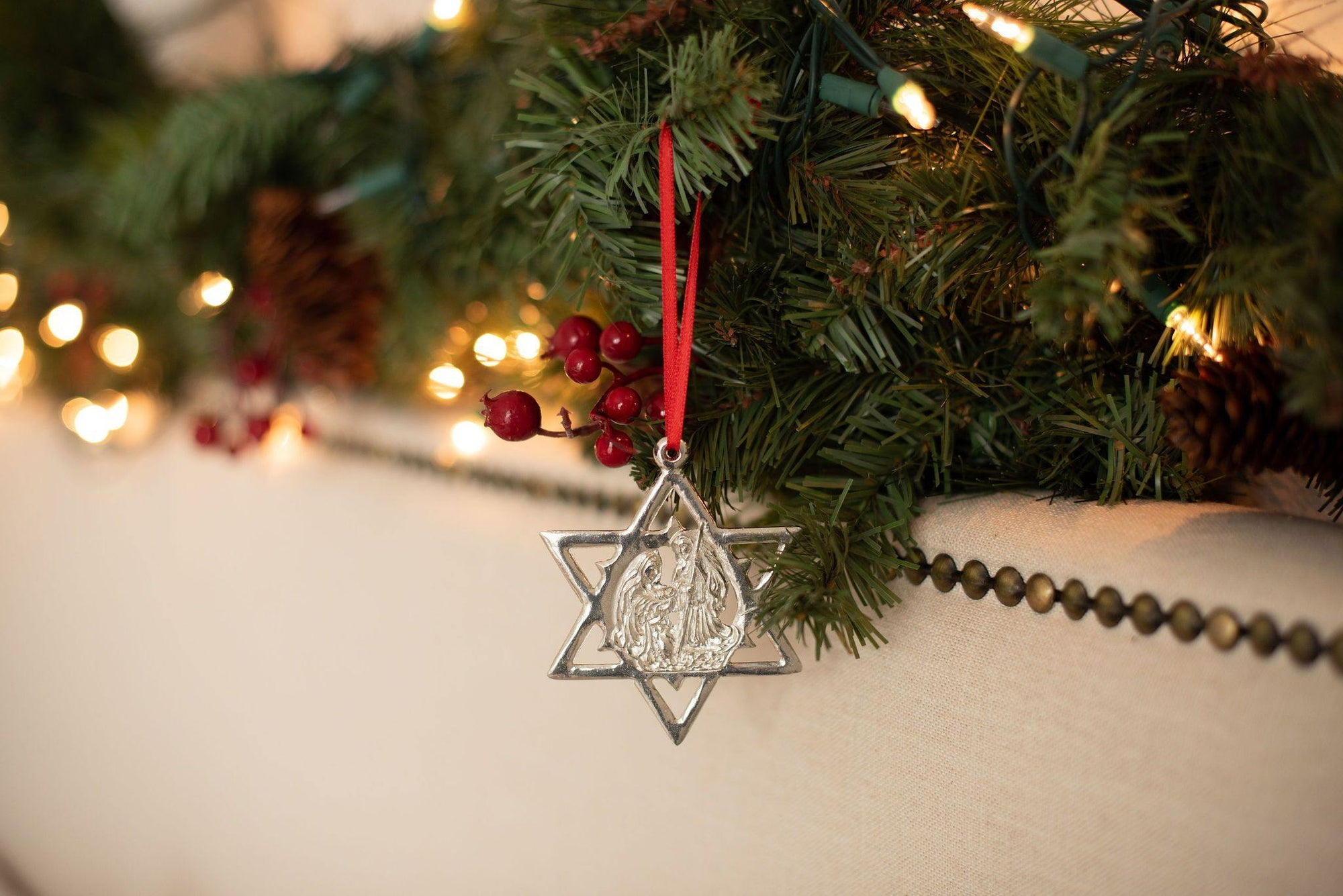 unique hanukkah christmas ornament