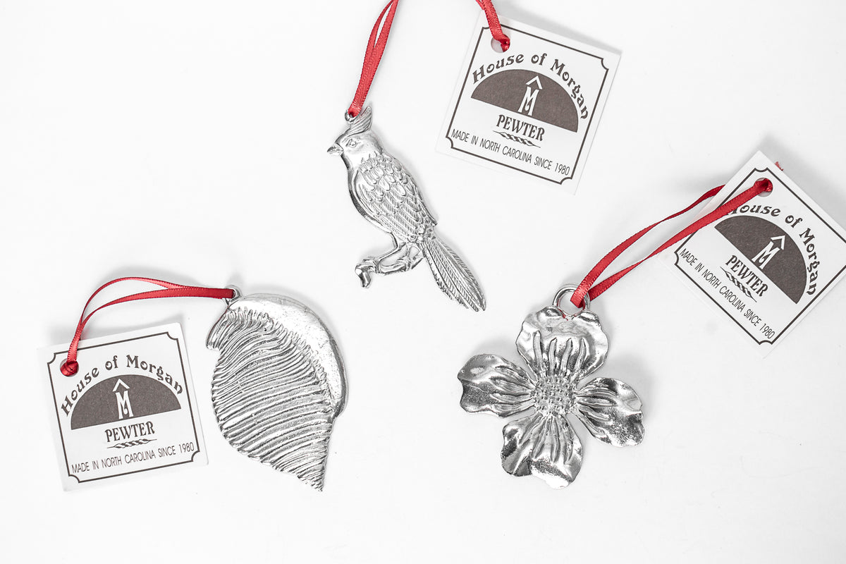 silver keepsakes state bird seashell flower