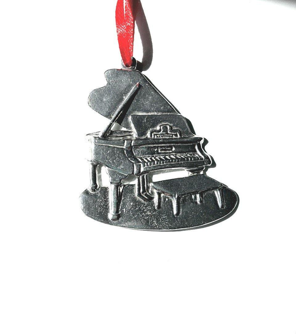786 Piano Pianist Musical Instrument Pewter Ornament - House of Morgan Pewter