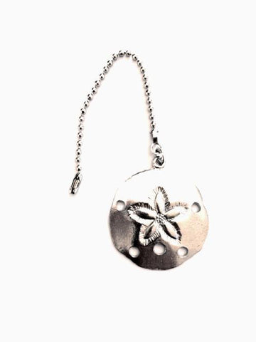 Fine Pewter Accent Ceiling Fan Light Pull Sand Dollar - House of Morgan Pewter