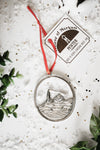 Handmade Swimmer Coach Team Christmas Ornament