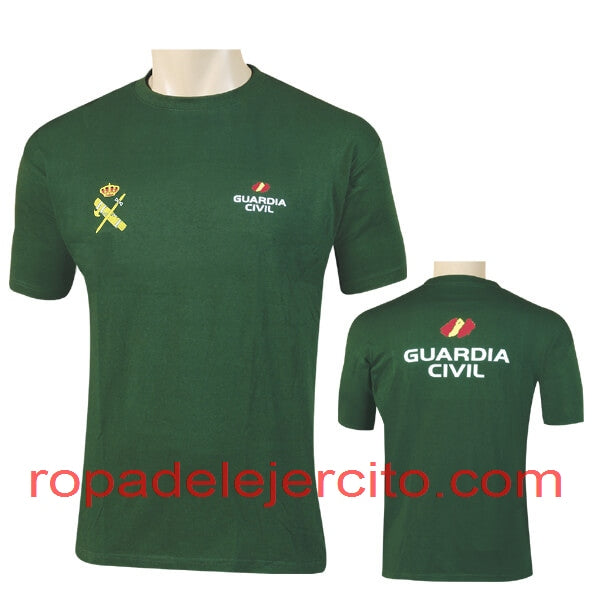 Camiseta guardia civil generica color verde