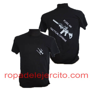 Camiseta fusil M4 tactical carbine