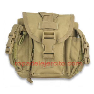 Bolso barbaric force molle tan
