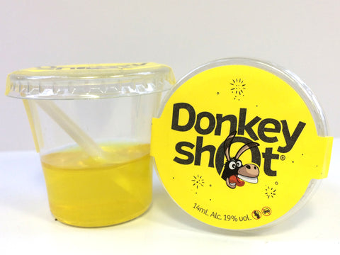 donkey shot citron - jello shot citron