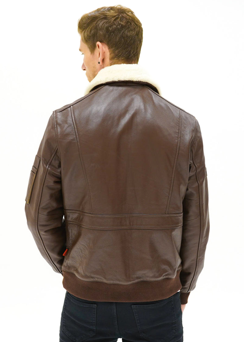 Vulcan Flight Jacket - Brown Edition - CAMOKAZI