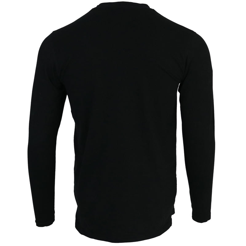 Black Signature Long sleeve T-shirt - CAMOKAZI