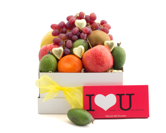 Who doesn't love chocolates and fresh fruit as a gift? We deliver in Christchurch, NZ