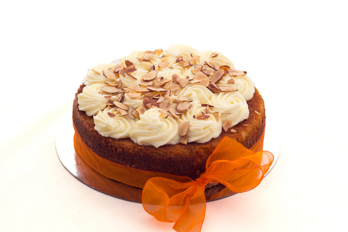 Gluten and Dairy Free Almond and Orange Birthday Cake