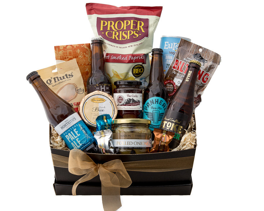 Apex Gifts Gourmet Craft Beer Hamper gift for men and beer lovers