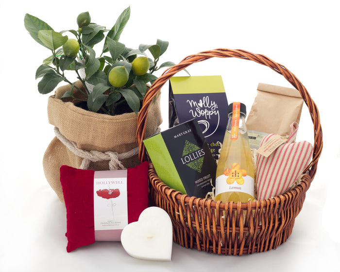 Sympathy, thinking of you gift hamper