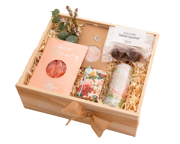 Pamper your Mum, sister, best friend or work colleague with these gorgeous goodies.