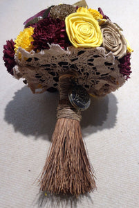 This Harry Potter inspired alternative keepsake bouquet