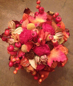 Autumnal/Falls Alternative Keepsake Bridal Bouquet