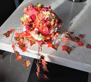 Autumnal/Falls Keepsake Alternative Bridal Bouquet