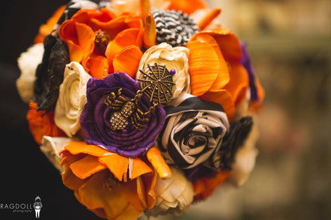 Nightmare Before Christmas Inspired Alternative Keepsake Bouquet