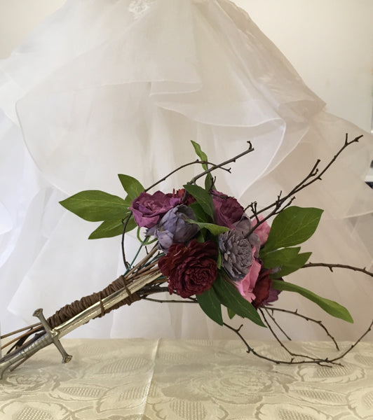 This Woodland/Lord of the rings inspired/Outdoor Bridal Bouquet